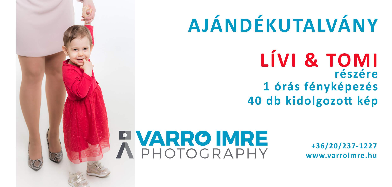 Varró Imre Photography Ajándékkupon